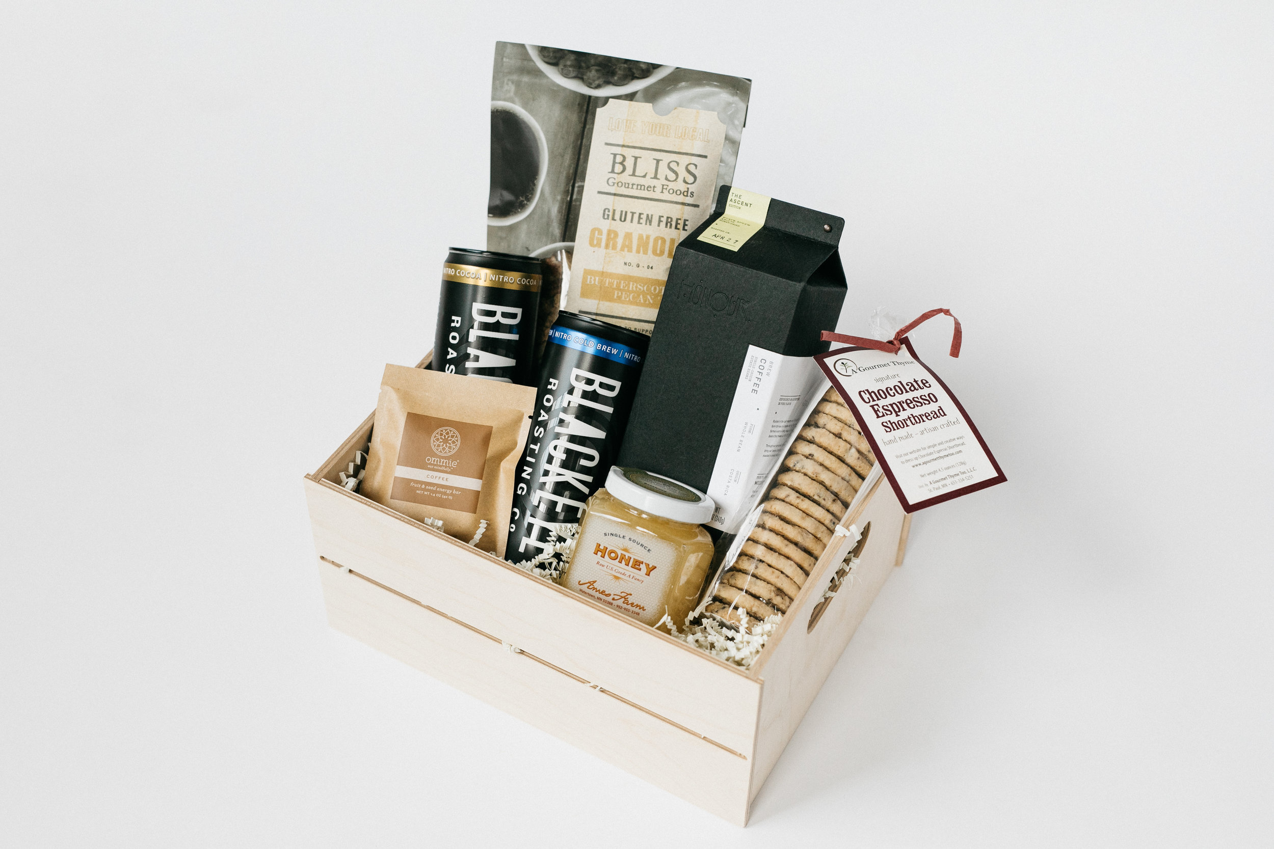 Coffee Crate - Minny & Paul