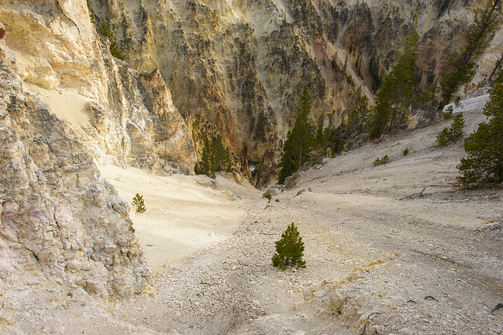 Twelve Hundred Feet, Grand Canyon of the Yellowstone