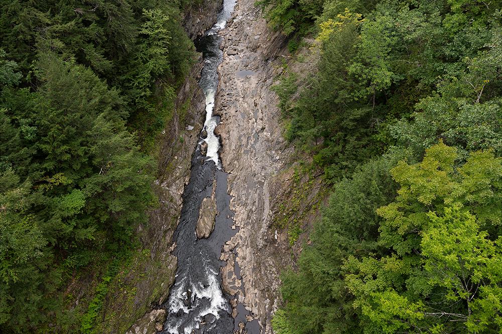 Ottauquechee River, Quechee Gorge, Vt.