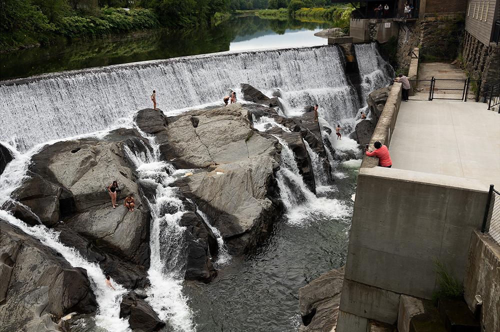 Falls, Ottauquechee River, Vt.
