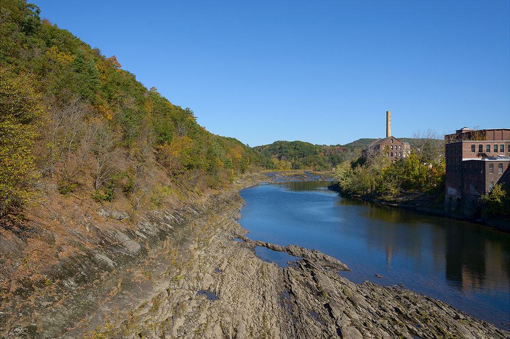 Diverted River, Turners Falls, Mass.