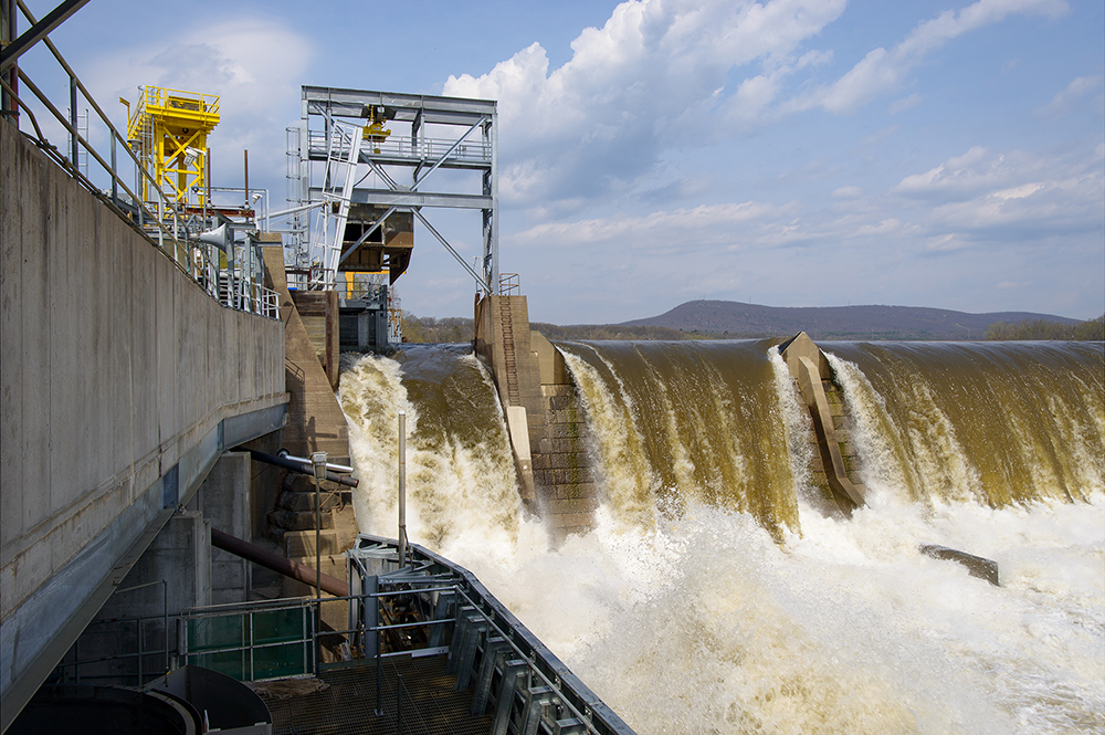 50,000 CFS, Holyoke Gas & Electric Dam, Holyoke, Mass.
