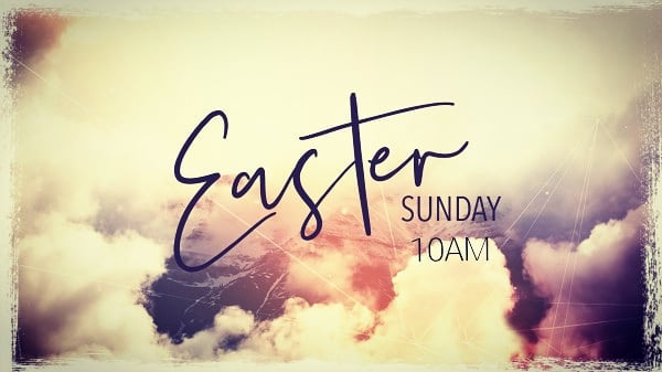 Join us at 10AM on Sunday, April 21st for our Easter celebration! Bring somebody with you!