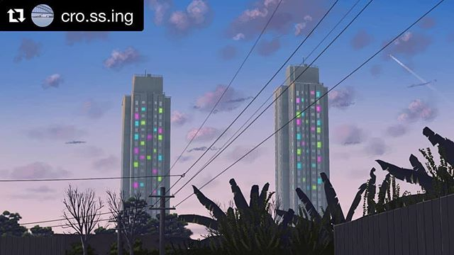 Thanks for illustrating... #Repost @cro.ss.ing (@get_repost) ・・・ waterloo, I was defeated you won the war waterloo, promise to love me forevermore ~~~~~~~ (This time I drew in Krita, not MS Paint)  #WeLiveHere2017 #publicart #community #communityart #publichousing #publichousingestate #sydney #redfern #waterloo #redfernlyf #redfernhood #wereadhere #lights #lightitup #colouredlights #art #artistsoninstagram #artandabout #sydneylocal #sydneynightlife #sydneylife #citylights #cityscape