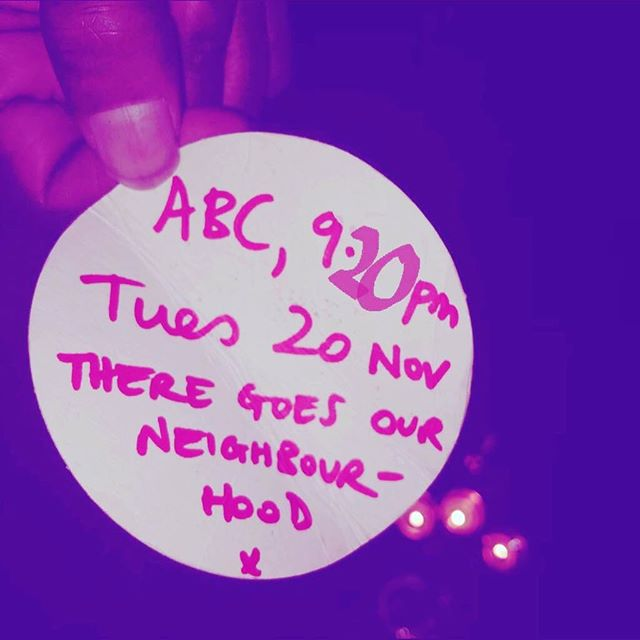 Our doco 'There goes our neighbourhood' is screening at 9.20pm Tues 20th Nov (tomorrow!) on ABC Arts  #theregoesourneighbourhood #welivehere2017 #sydney #redfern #waterloo #housingactivism #publichousing #gentrification #colonisation #futurecities
