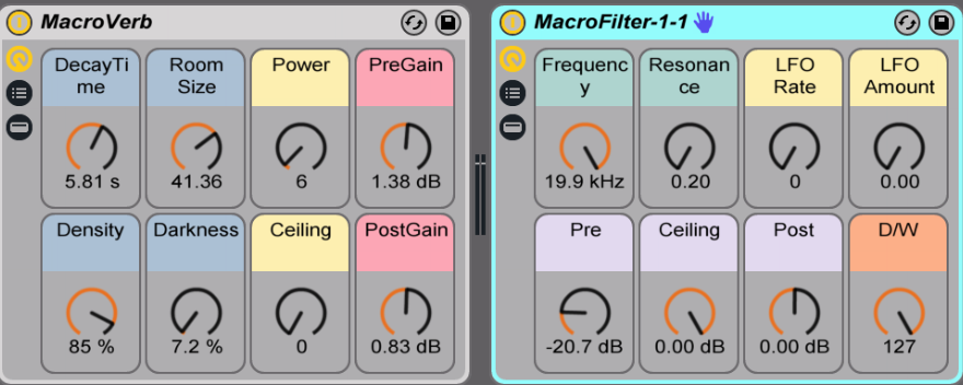 ableton devices