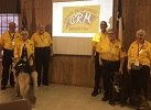 CRM Volunteers and Therapy Dogs