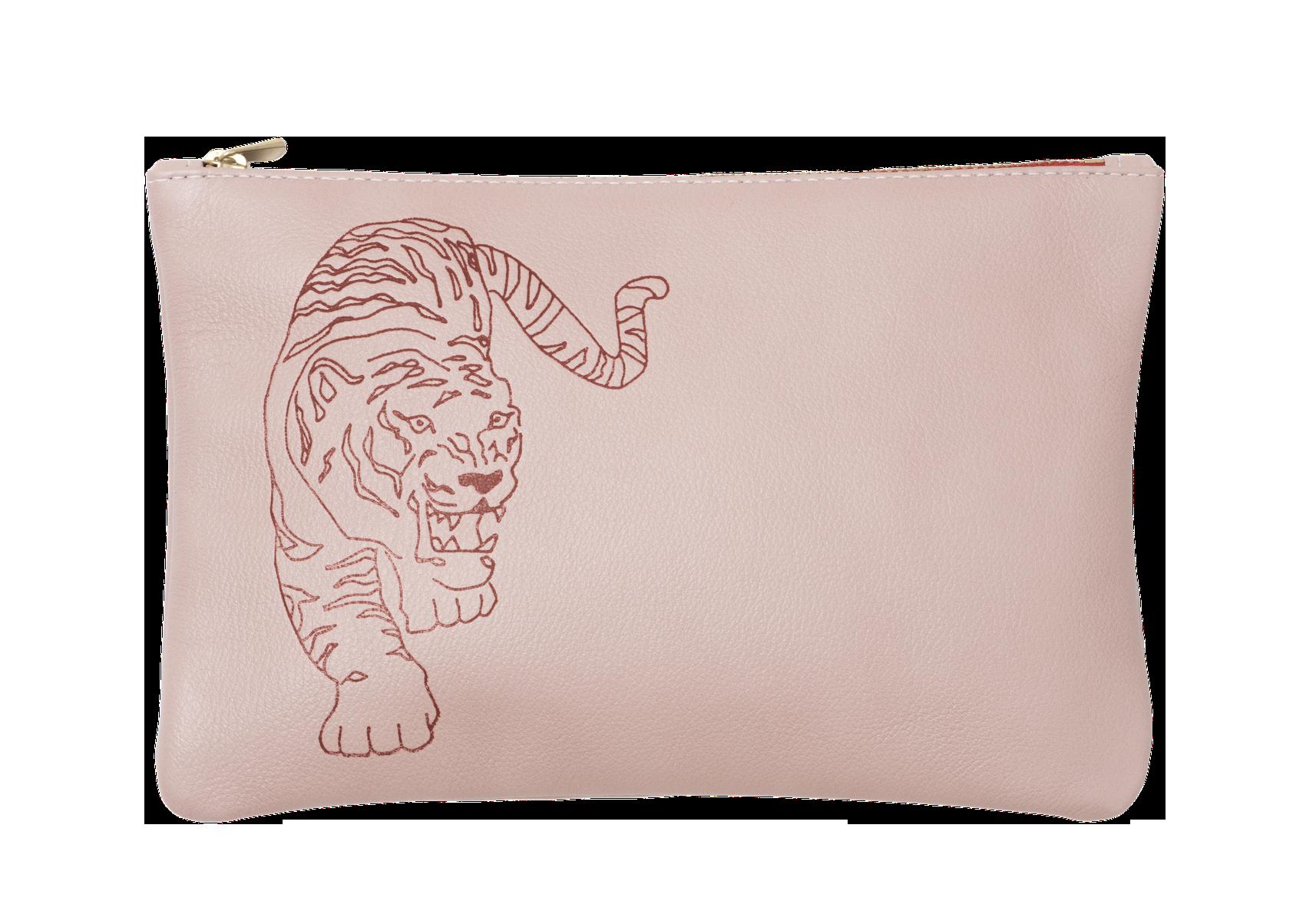 LT005-PK - etui tiger pink