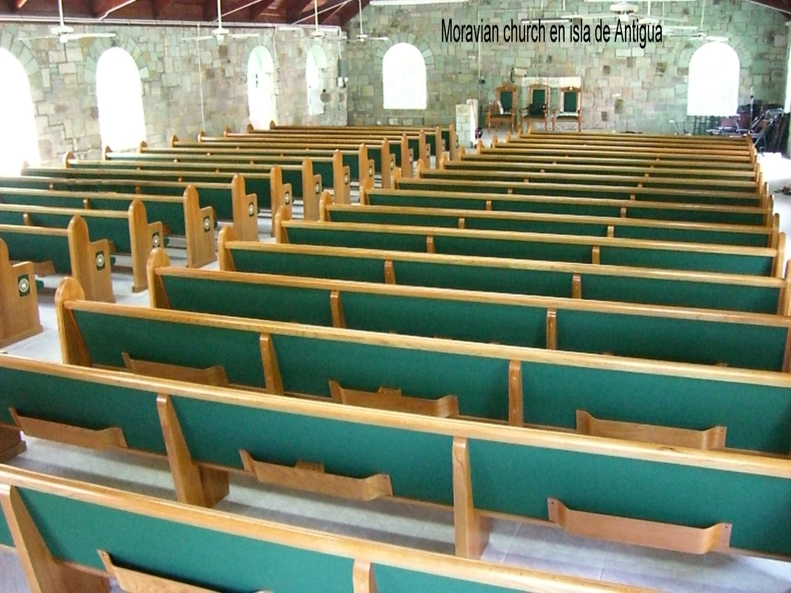 Moravian Church Antigua W.I.