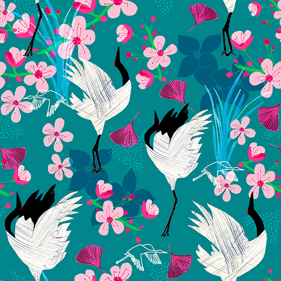 Amanda_West_Plymouth_College_of_Art_2018_The Endangered_Red_Crowned_Crane.jpg
