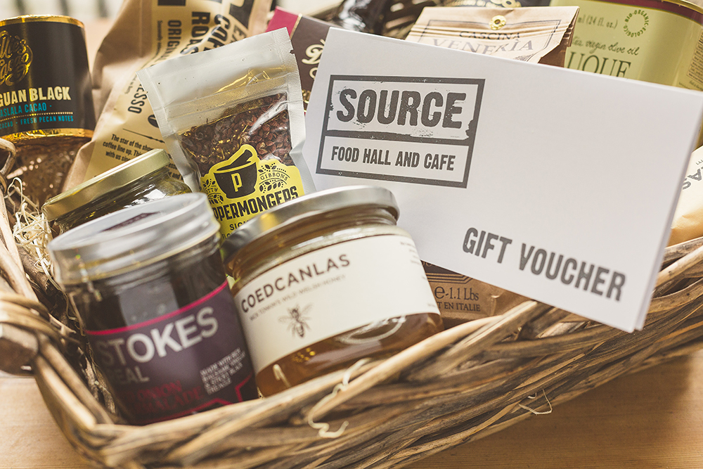 Gifts, food gifts, hampers, bespoke, hand wrapped in our Bristol city centre shop.