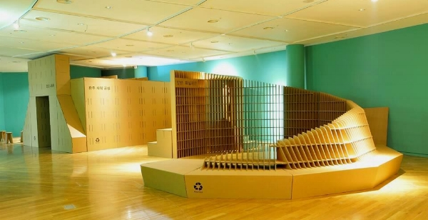 Collaboration with architects for Clayarch Museum (a museum for architectural ceramics), South Korea