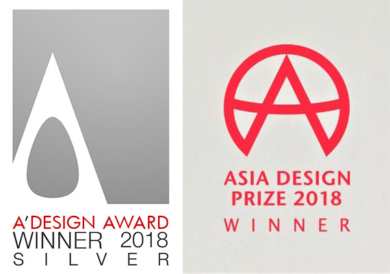 Recognition - Aubergine Pillow has won the A'Design Award and Asia Design Prize in 2018.