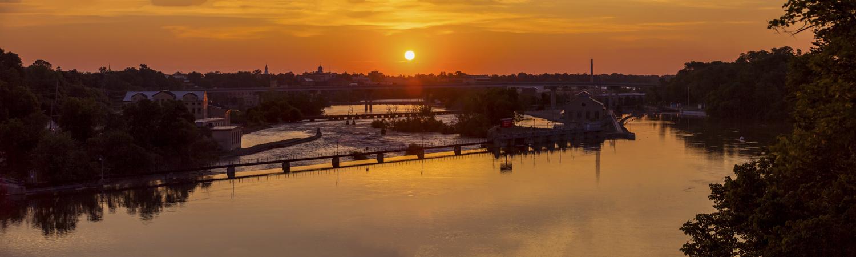 Sunrise over Appleton