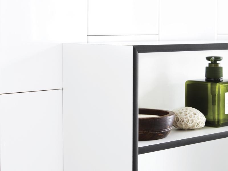 Bathroom cabinet - by Skånebeslag