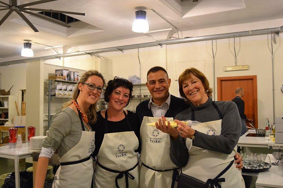 Ombretta, Toni, Ezio e Dalia da FoodLab.JPG