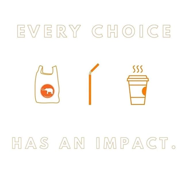 Every. Choice. Counts. ⠀ ⠀ You probably already have heard the facts: 8 billion tons of plastic has been produced since 1950. 8 million tons ever the oceans, playground being the the 3RD most common item found there. Only 15% of all plastic actually gets recycled. ⠀ ⠀ But plastic is ubiquitous. Just going to the grocery store can make it seem impossible for us to ever live sustainably, let alone zero waste. ⠀ ⠀ It just starts with one choice. Ditch the straw at restaurants, carry reusable utensils, remember to bring your bags in the grocery store (I get so upset when I forget them at home!), carry a reusable water bottle and filter your water at home to avoid buying new plastic bottles, and be conscious of the packaging of your foods.⠀ ⠀ Simple choices we make every day are the kind of things that will help us keep our Earth healthy. If you are asking if one little thing really makes a difference, remember the ripple effect. Everything is connected, and we all have to do our part to make a wave.⠀ ⠀ #sustainability #sustainablephilly #zerowaste #zerowastephilly #sustainableliving #BeatPlasticPollution #earth #ClimateCrisis #environment #savetheplanet