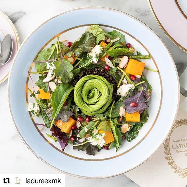 Now being vegan doesn't have to mean giving up @maisonladuree, with a cause I can get behind.  #Repost @ladureexmk ・・・ Happy #worldvegatarianday!  It was a natural partnership with @matthewkenneycuisine who shares a common ethos: appreciating culinary accomplishments and savoring life's moments, while advocating health and sustainability. He is innovator of the plant-based movement. The teams are working together and learning from one other to create delectable dishes to be enjoyed by foodies. Our creation are unique. #LadureexMK #LadureeVegan #PlantBased #Vegan