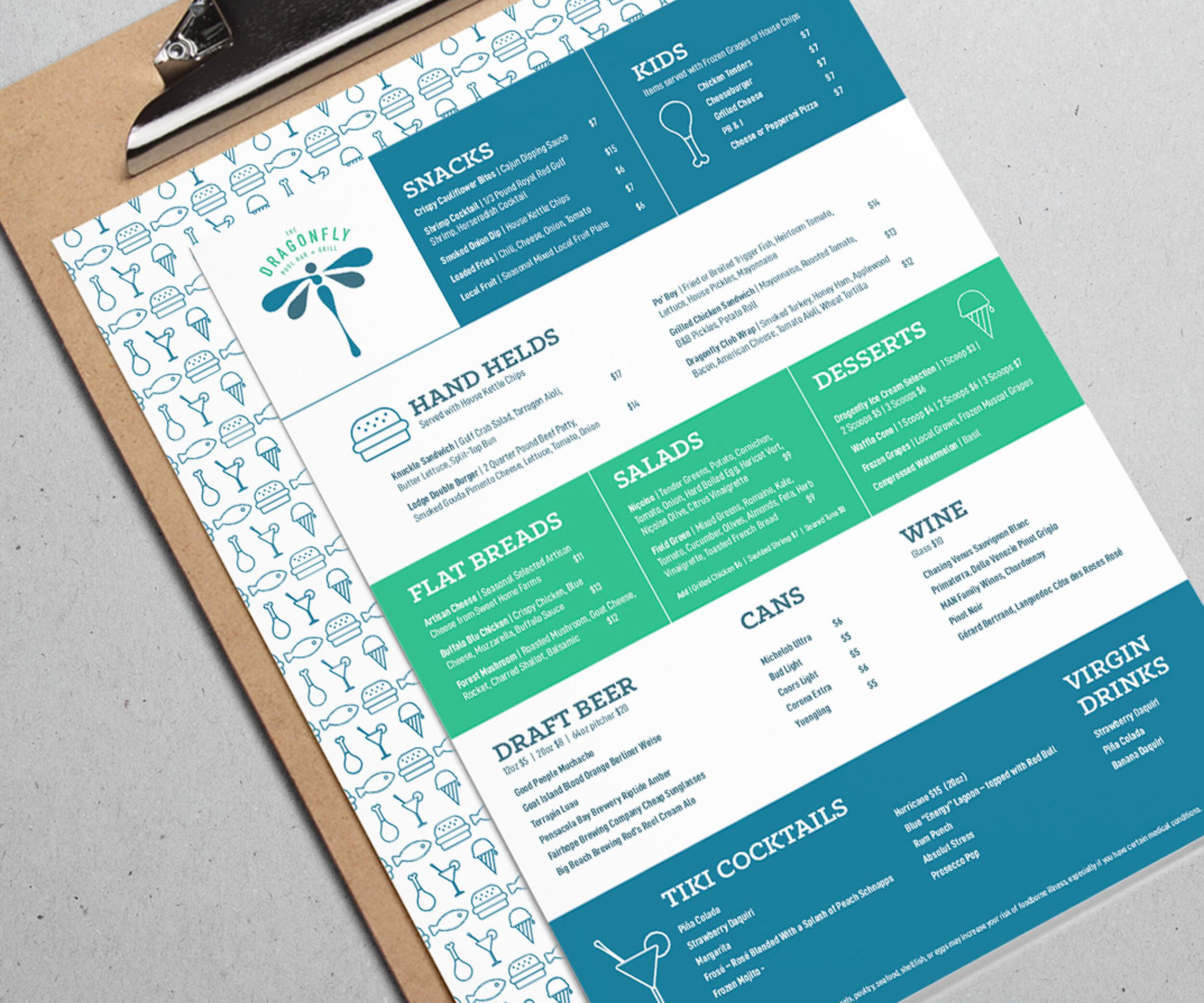 Dragonfly menu.jpg