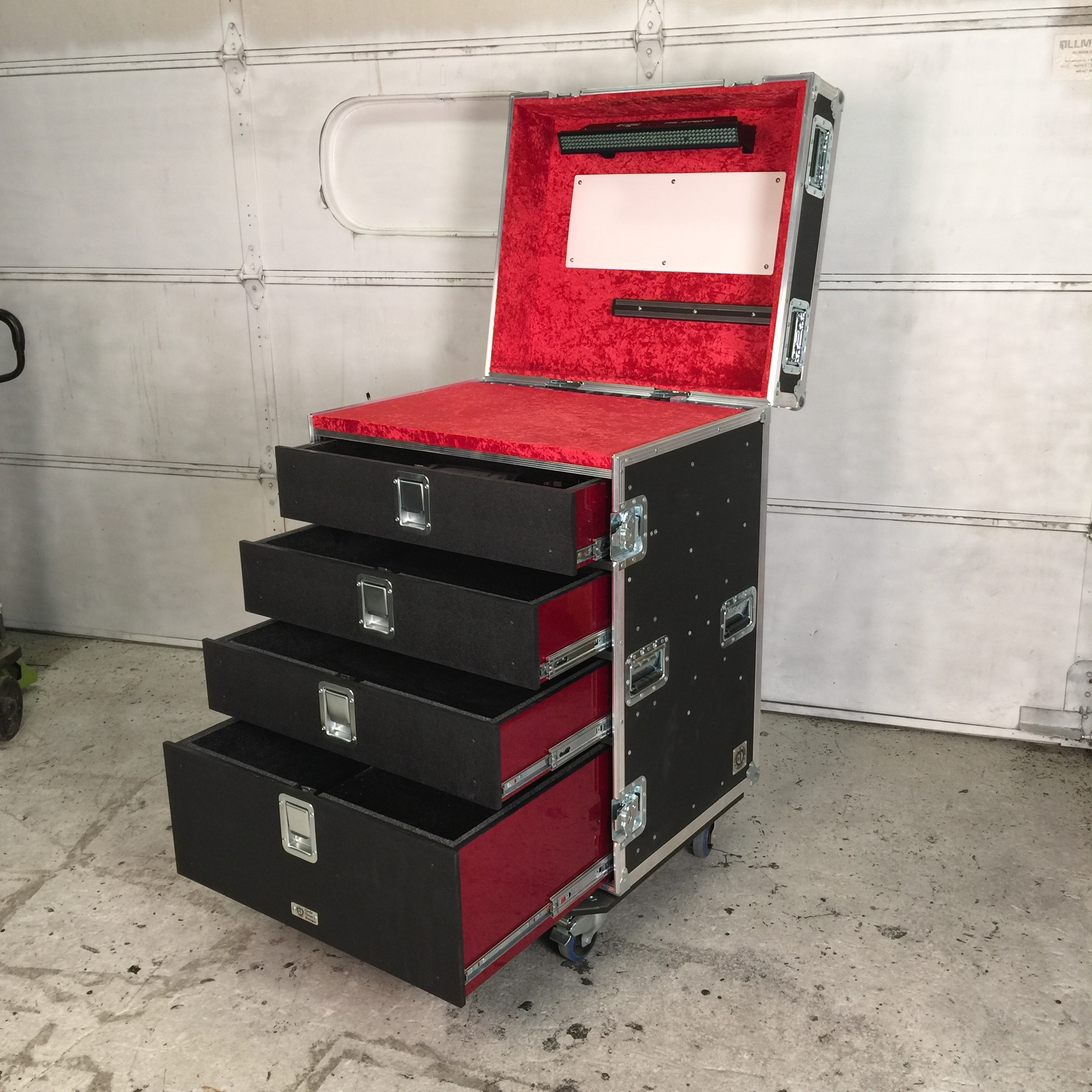 32x28 Guitar Tech Workbox Red and Red IN STOCK.JPG