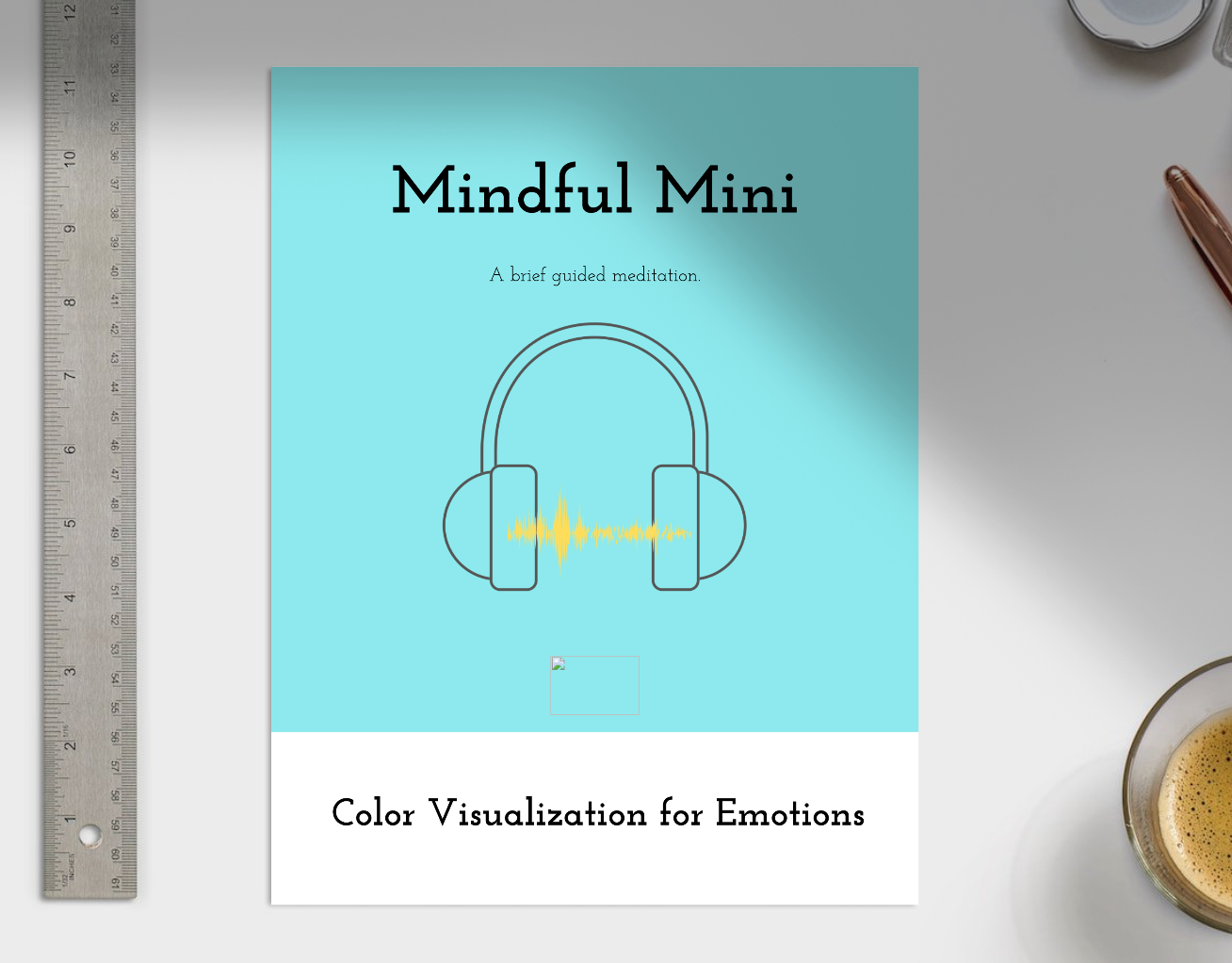 Color Visualization for Emotions - A five minute guided meditation for social-emotional learning - MP3 file and script included!