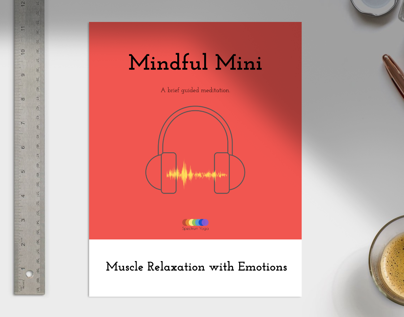 Muscle Relaxation - A three minute guided meditation for body awareness, mind-body relaxation, and practice in observing physical emotional expression - MP3 and PDF script included!