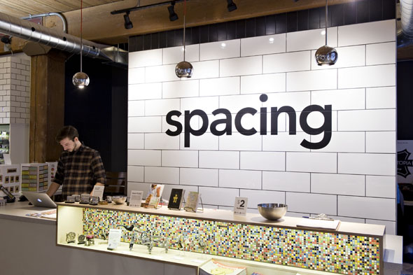 Photography by Morris Lum for   BlogTO ,  Spacing Store/  Nov.14