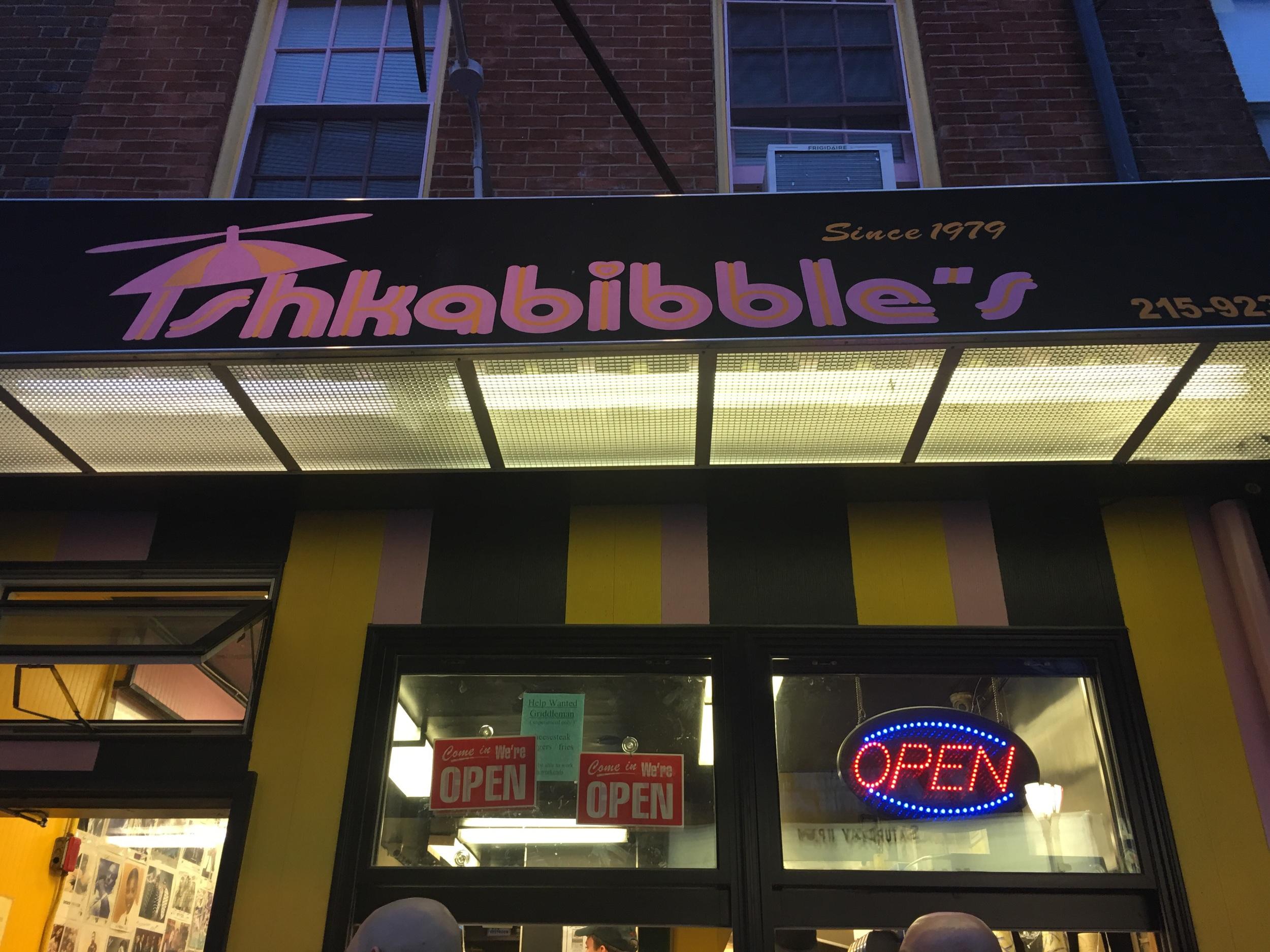 Ishkabibble's on South Street