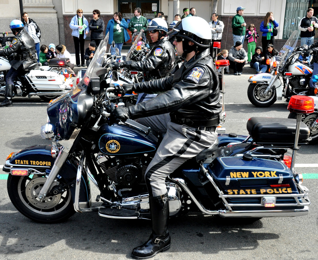 The New York State Troopers use the NYS Entry Level Police Exam.