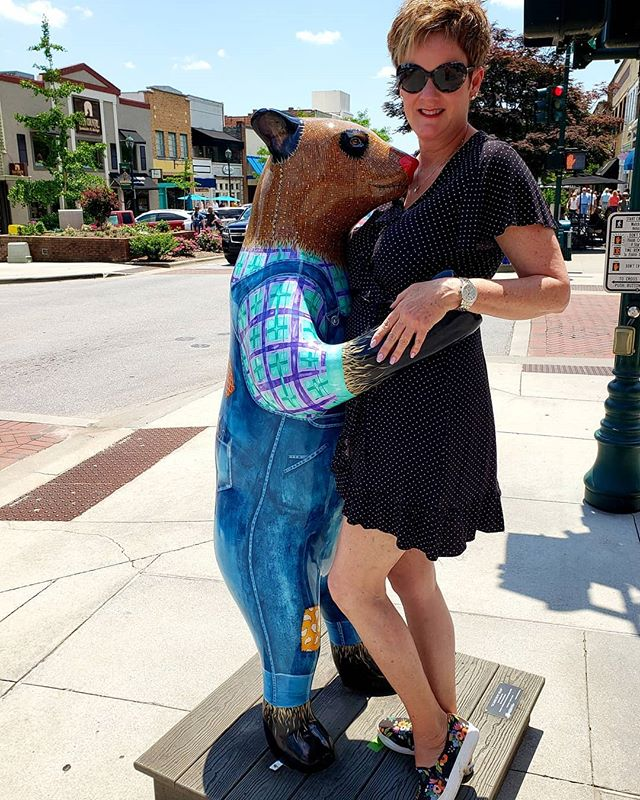 Took a twirl with this sweet bear!