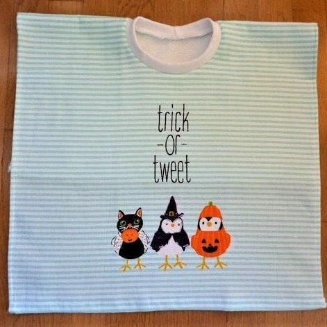 Excited to share the latest addition to my #etsy shop: Trick or Tweet - Best Bib Ever - Hand towel Bib, Toddler Bib, Large Bib, Towel Bib https://etsy.me/2zxi0tS #children #baby #feeding #halloween #toddlerbib #babybib #handtowelbib #elasticneckbib #bibs https://etsy.me/2Zz1jJ1