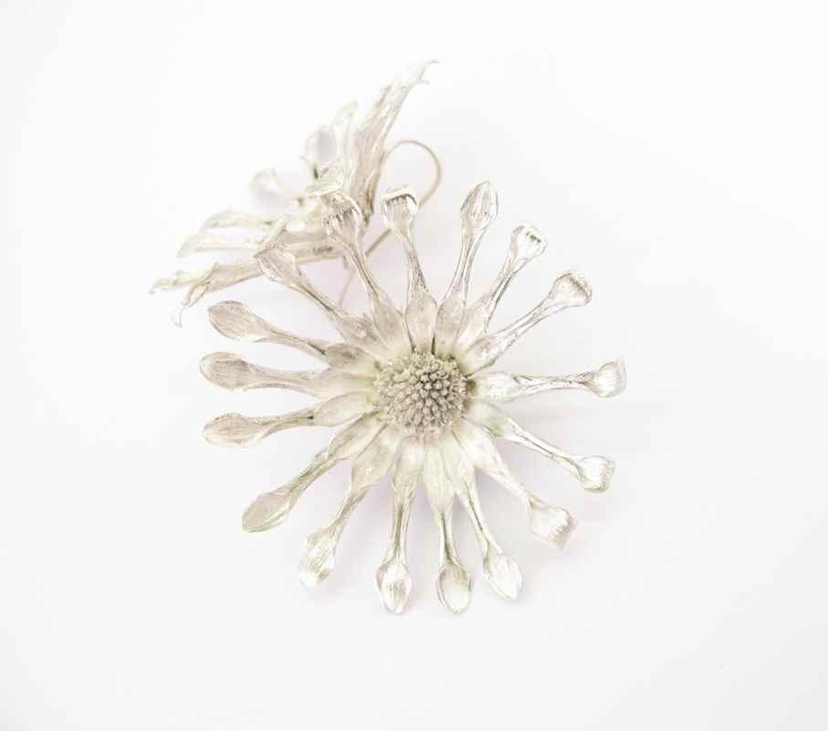 Daisy flower earrings NBE013 & NBE014.jpg