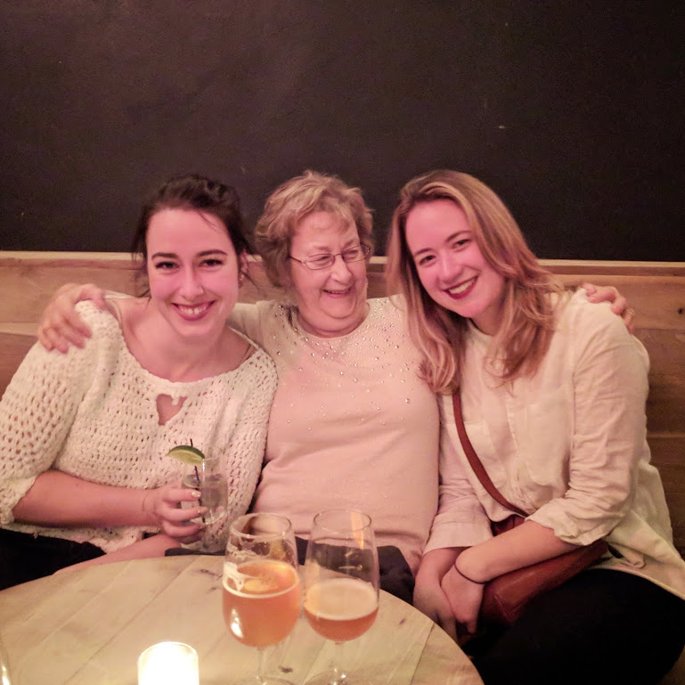me, my nana, and my cousin Diane