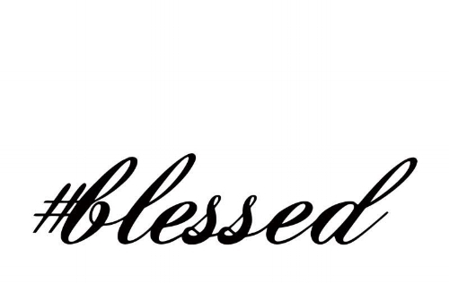 I don't know when I started using #blessed unironically, but I'm pretty upset about it.