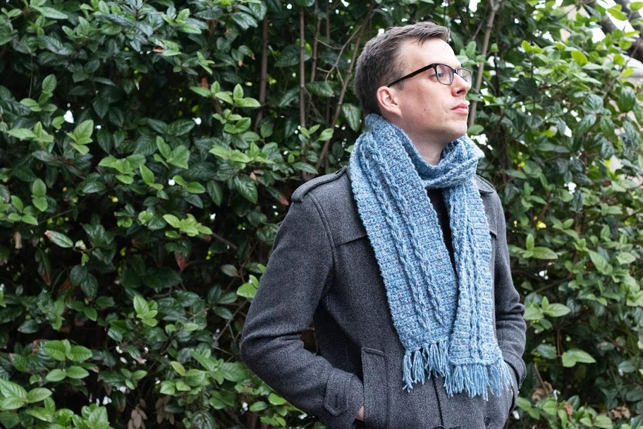 The Fall Collection - Together with Paintbox Yarns, I've designed this 5-piece, Men's Capsule Collection: three sweaters, and two unisex scarf designs. All inspired by the textures of the season: crunchy leaves, crisp pine needles, and softly fallen snow. Grab the patterns HERE , browse below, or read more about the collection!