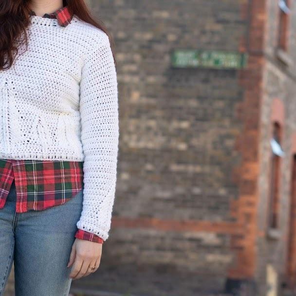 Ladie's Pine Crew Sweater