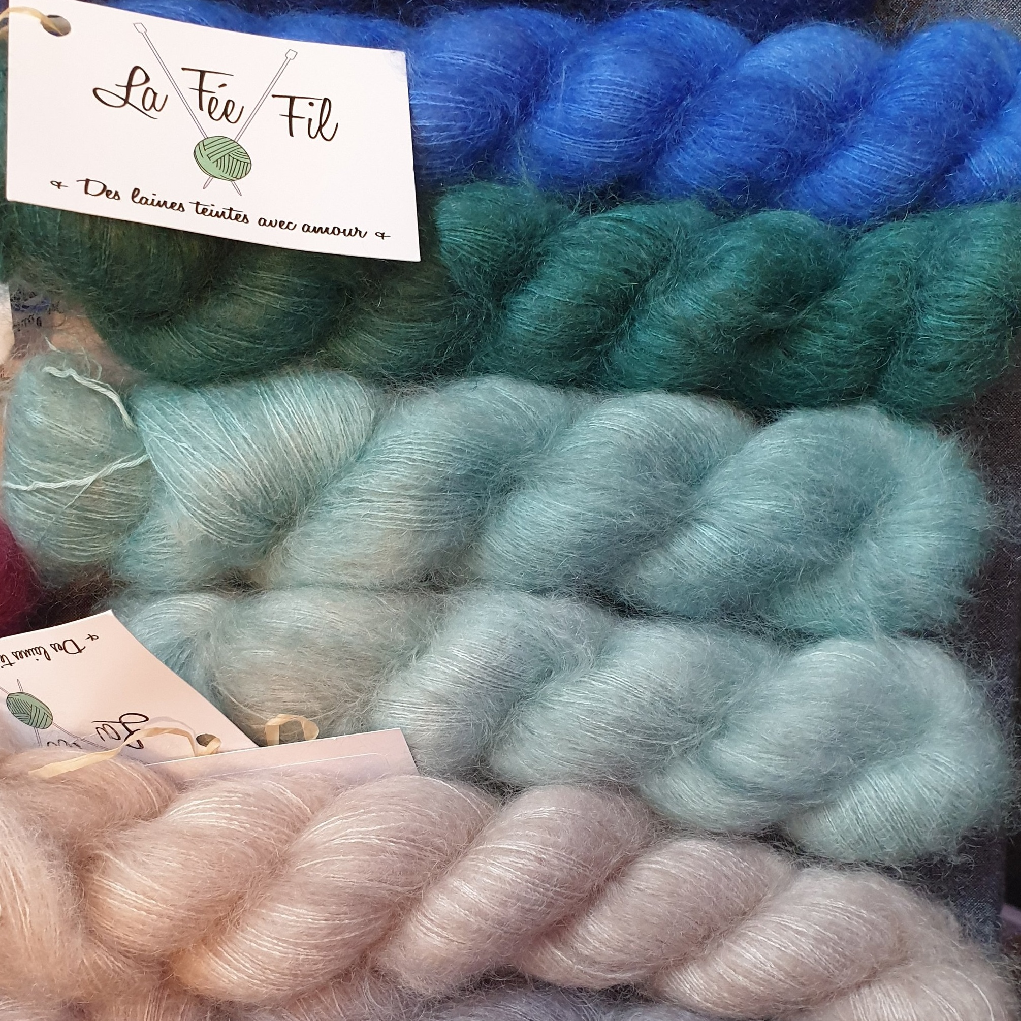 La Fee Fil  - I wanted all of this mohair