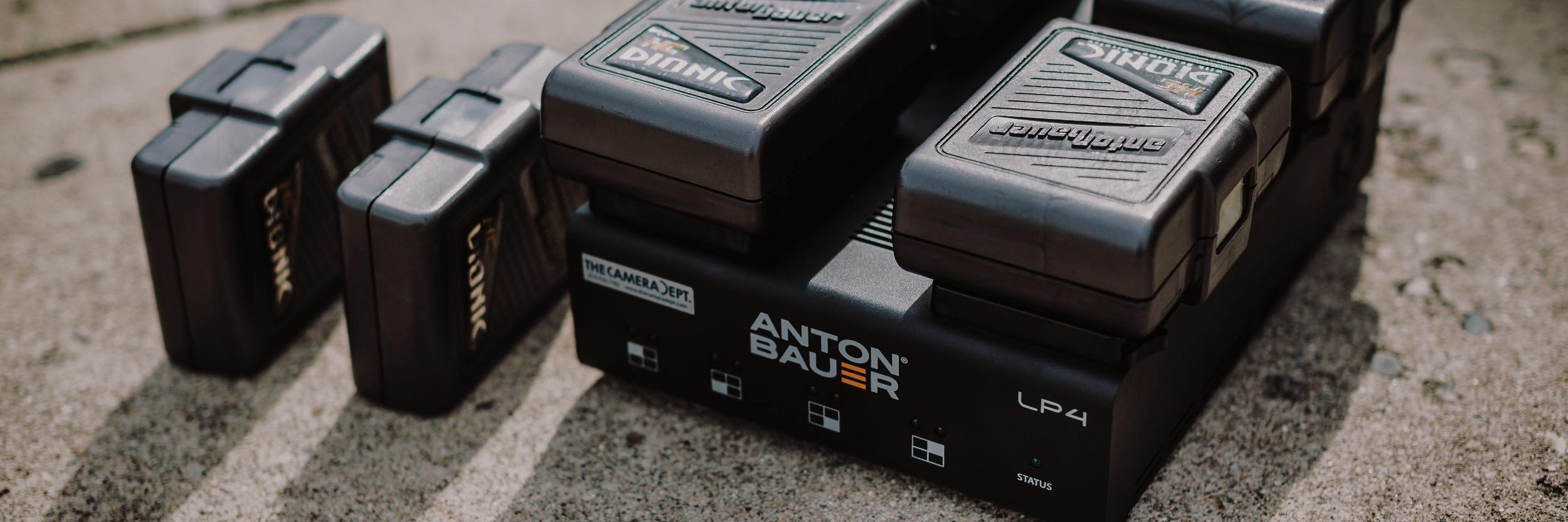 Anton Bauer on-board batteries