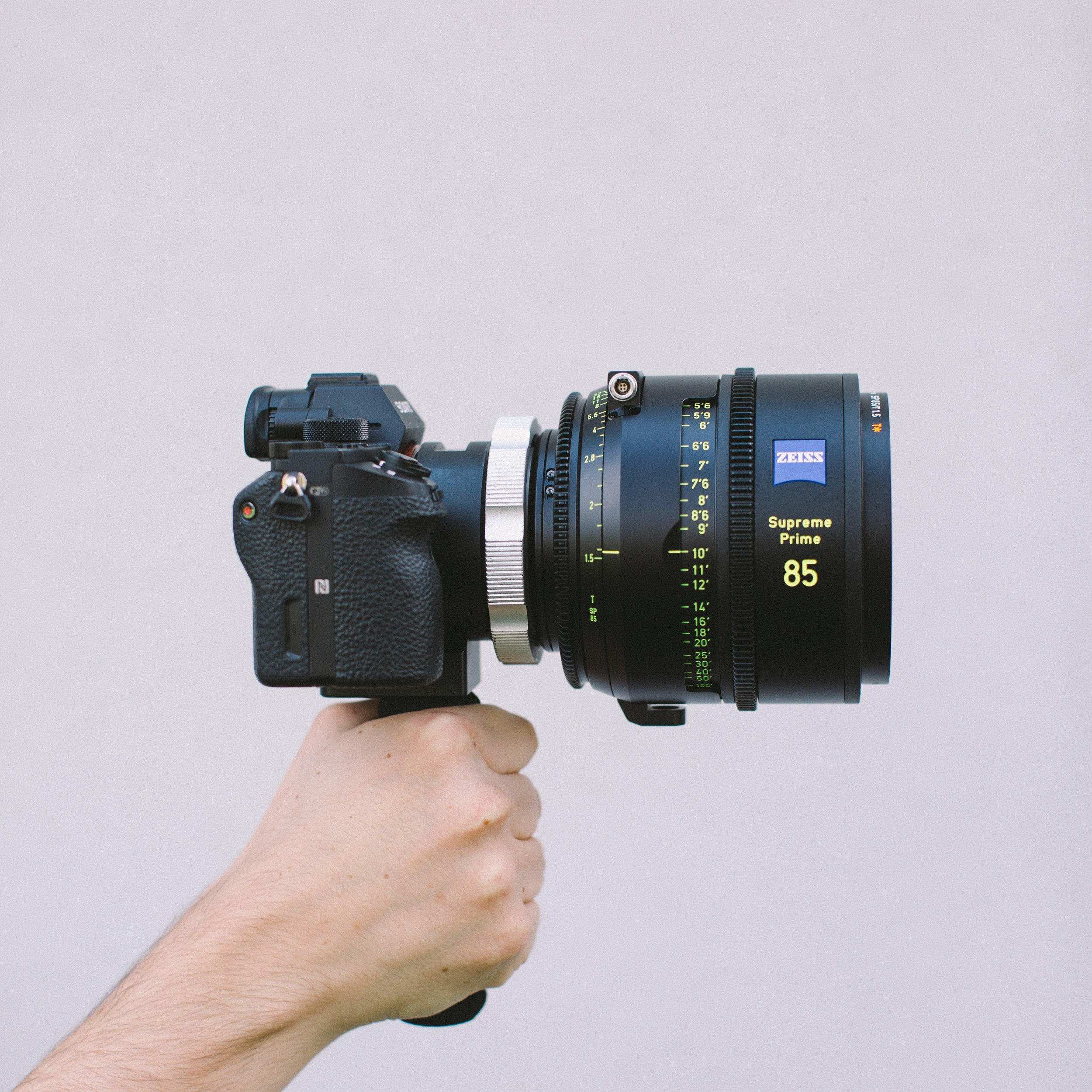 85mm Supreme Prime on the full frame Sony a7s