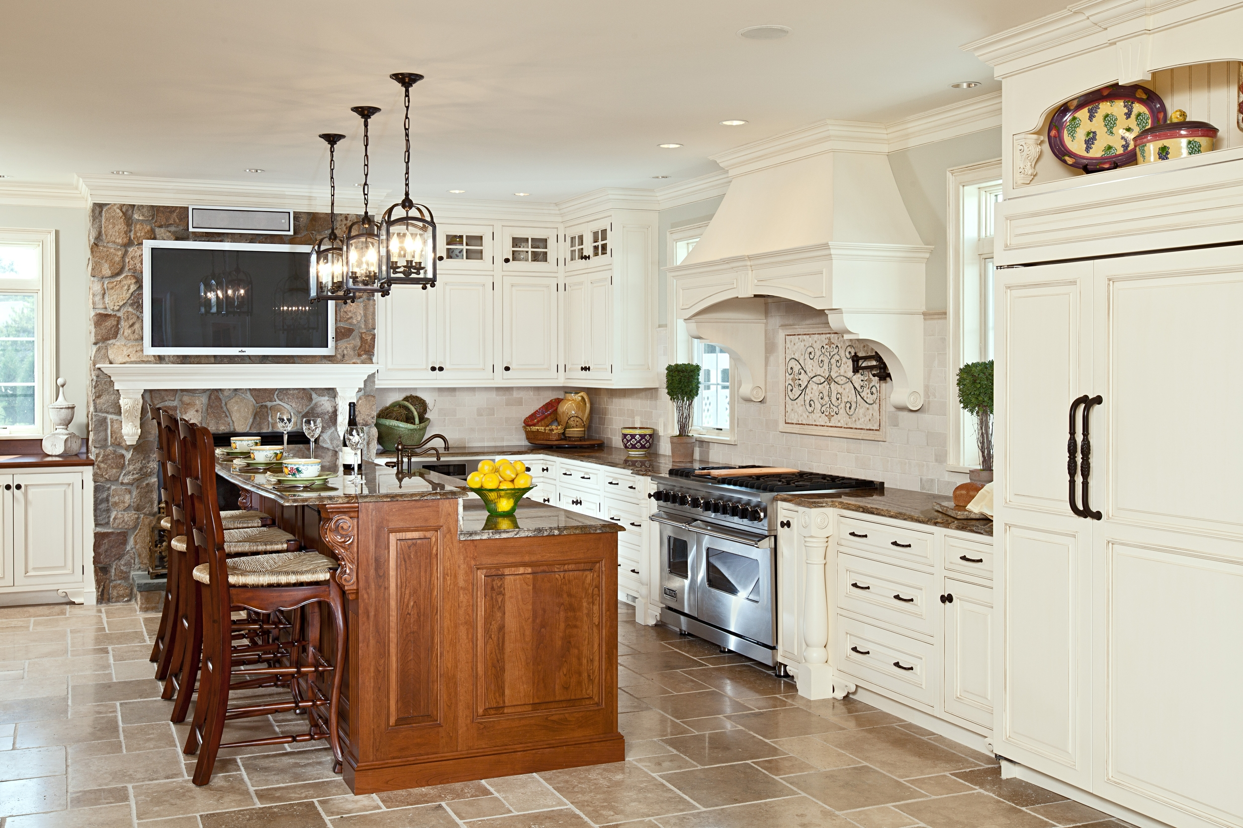 Traditional Kitchen - Mary Courville Designs