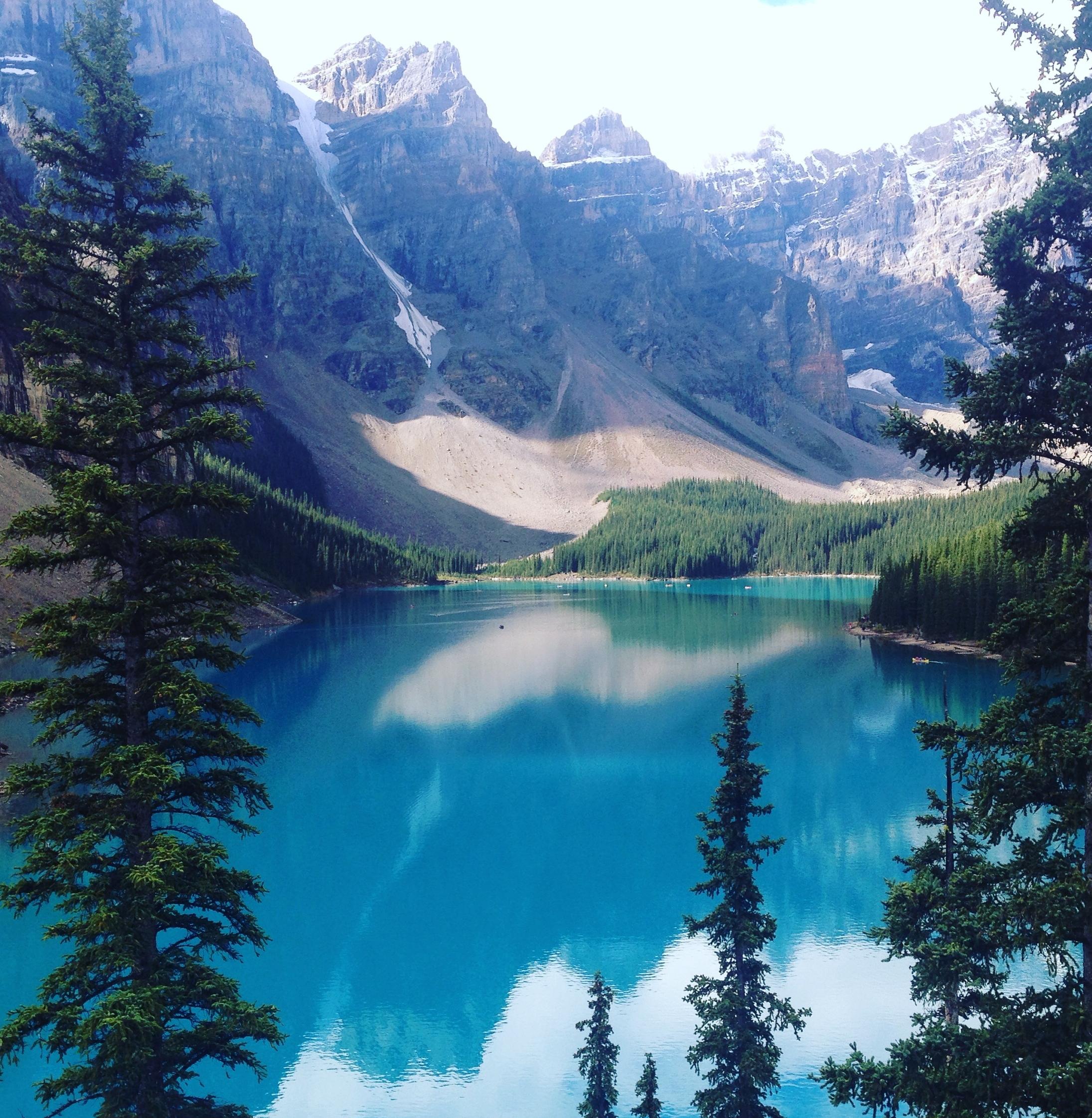 Moraine Lake, Alberta, Canada Photo by Dede Ranahan