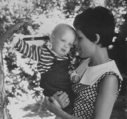 Patrick and me in 1969