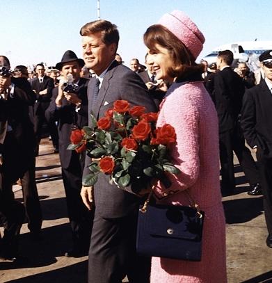President and Mrs. Kennedy November 22, 1963