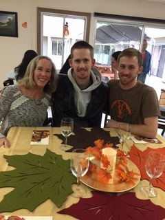 Judy, Ryland, and Stewart Thanksgiving Day 2017