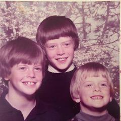 Mary's boys: Will, Farron and Phillip