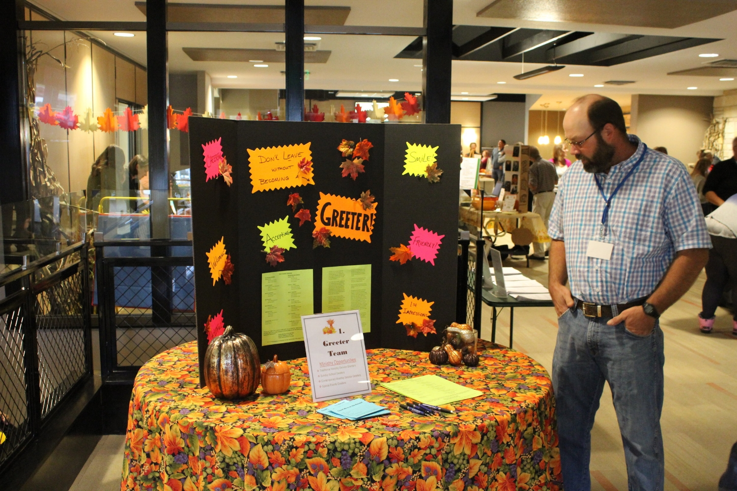 Fall Ministry Fair 2017    We held our first annual Fall Ministry Fair and highlighted over 20 thriving ministries here at SRBC!