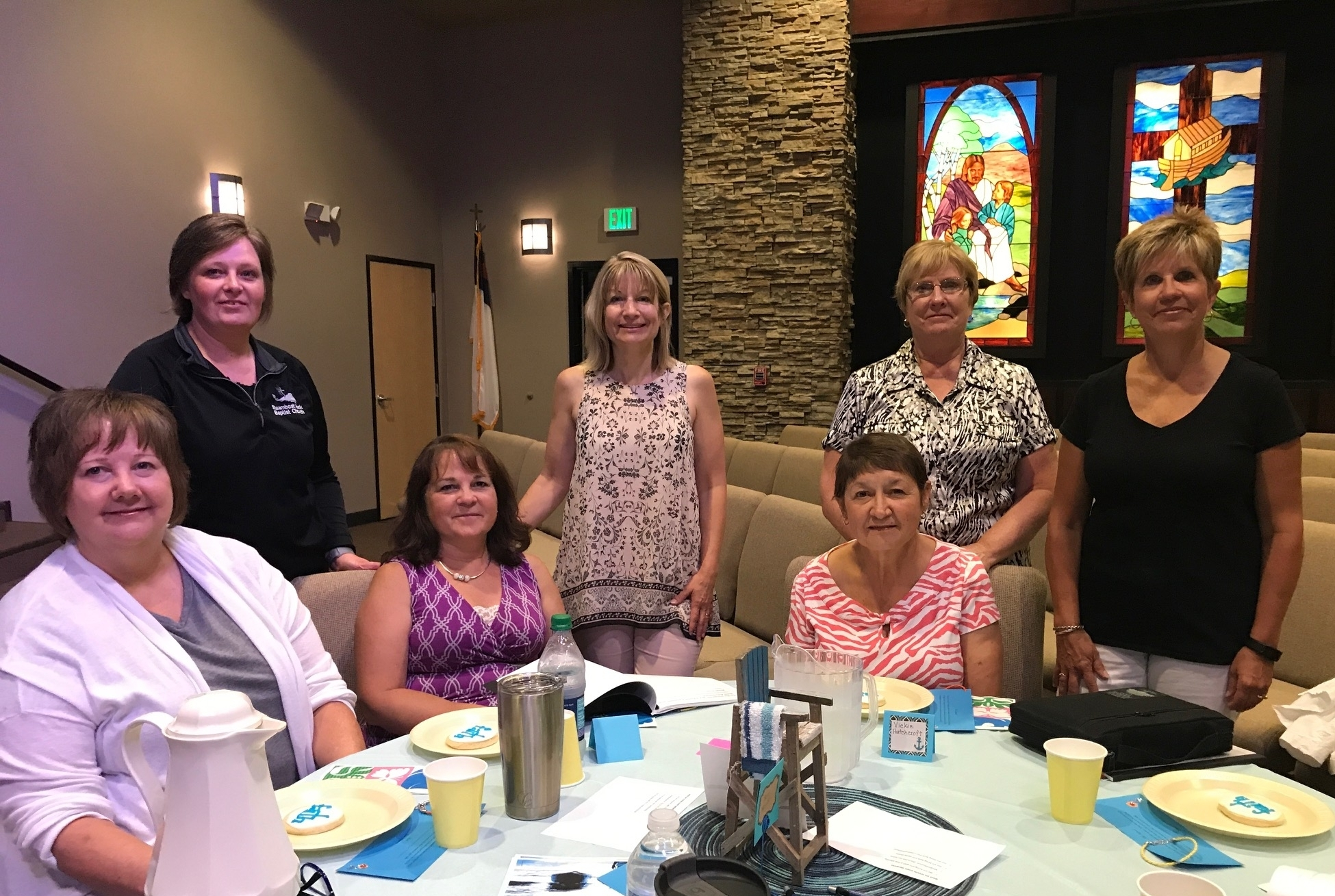 "Women's Bible Study 2017    Jane authored and led this summer's Bible Study entitled ""To Be Inspired"""