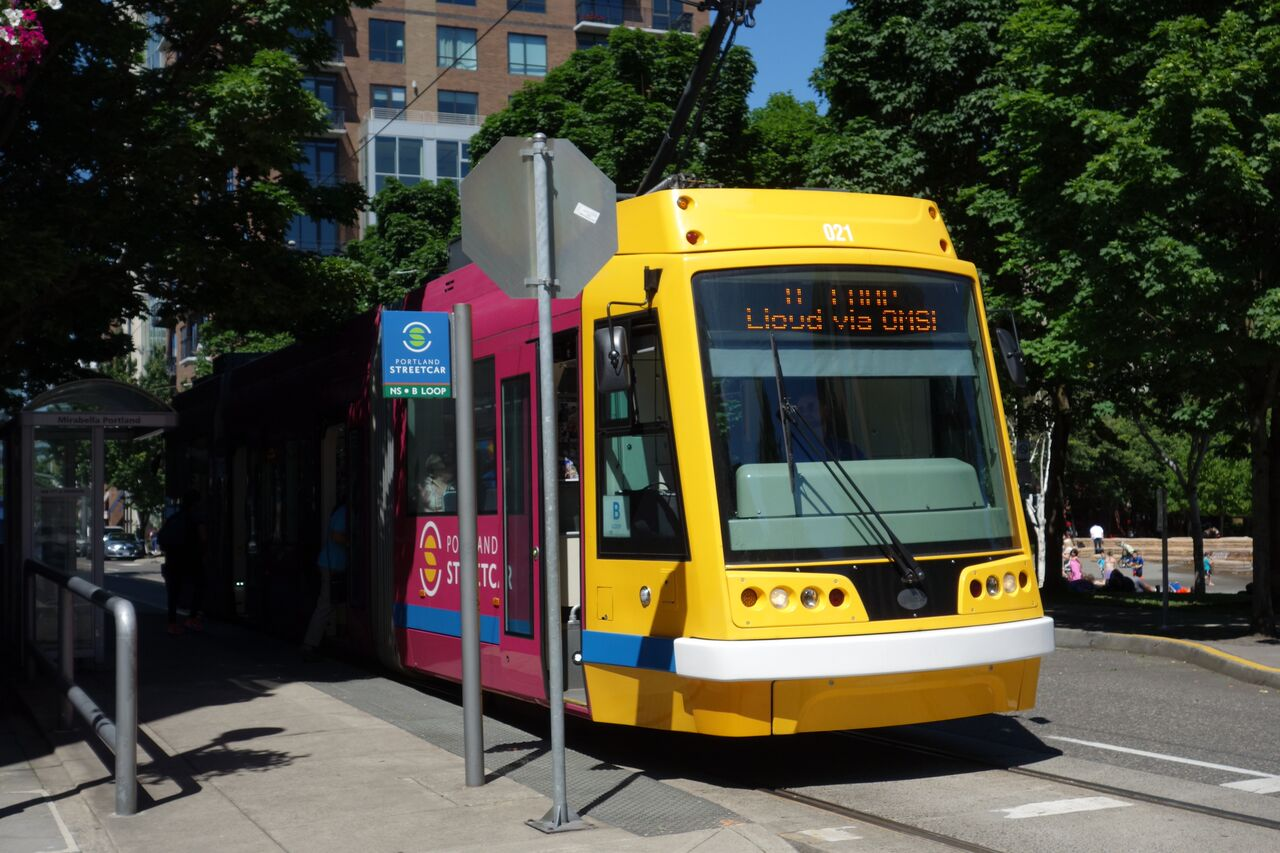 The early incorporation of a streetcar program in the Pearl District became a catalyst for development.  Expansion of the streetcar system now connects the Pearl to other urban neighborhoods and downtown Portland State University.