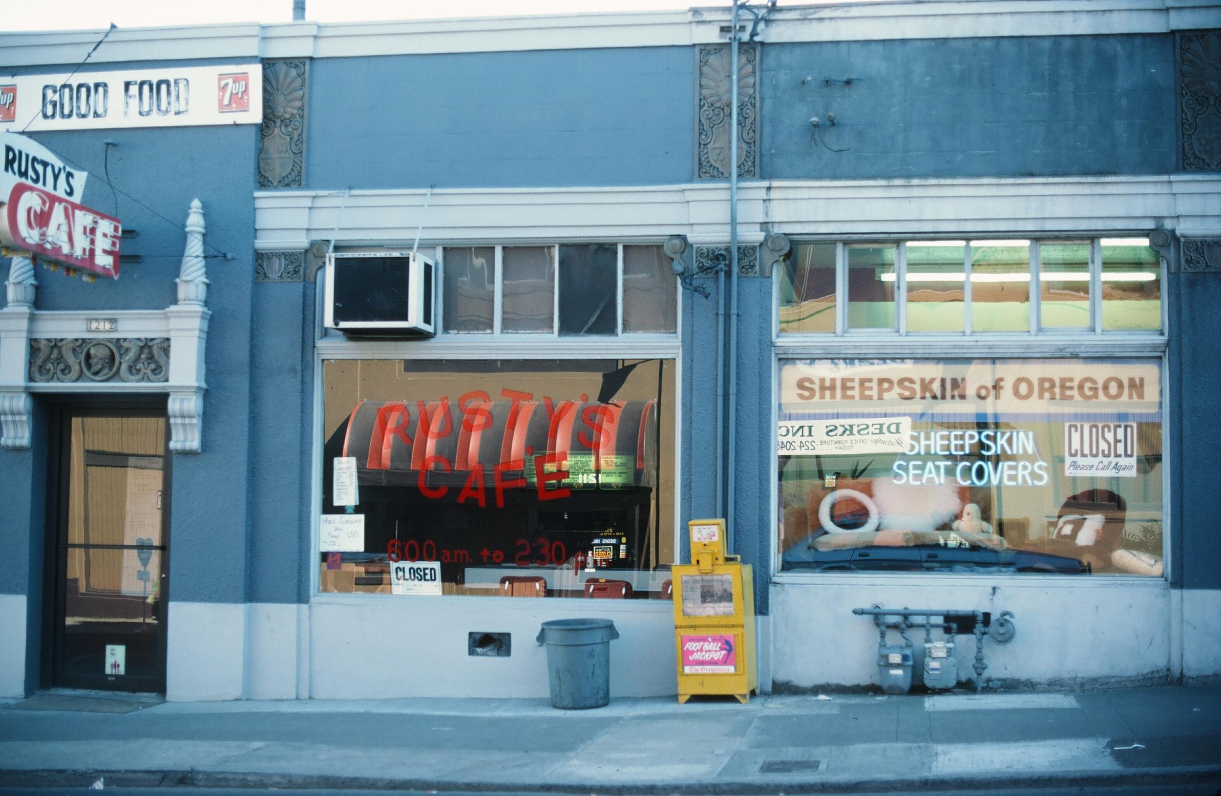 Rusty's Cafe, 1986.JPG