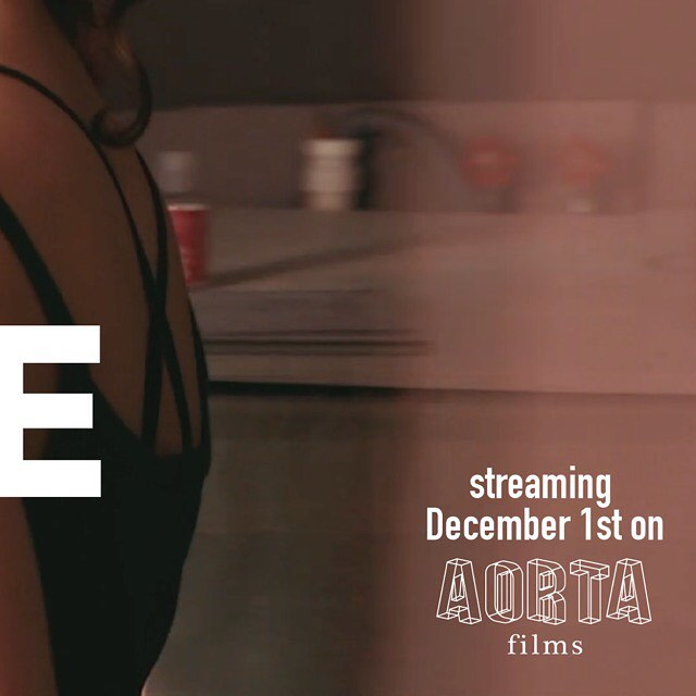"""Get the full 📷 on our profile! ... Introducing AORTA's December film """"Bite Me"""" starring @ginnywoolfx and @grandma_wolfe. Trailer drops tomorrow! Shot by @patrickisphotographer, directed by @call_me_partsauthority, edited by The Soft Gaze, with score by Paleo Pony aka @rhythmbeard. ... Alice the Wolfe and Ginny Woolf knew of each other, but they didn't, like, know know…get ready to watch these thirsty wolves finally meet in the flesh. This frenzy of greedy desire is quick, it's dirty, and it's gonna leave you wanting MORE. But we know you won't be able to tear yourself away, because we're willing to bet you want these trashy babes almost as bad as they want each other. . . . #queerporn #altporn #indieporn #ethicalporn #feministporn #trans #nonbinary #transdyke #enby #genderqueer #femme4femme #trashfemme"""